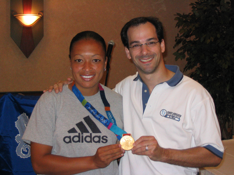 Olympic gold medalist, U.S.A. women's soccer, Angela Hucles