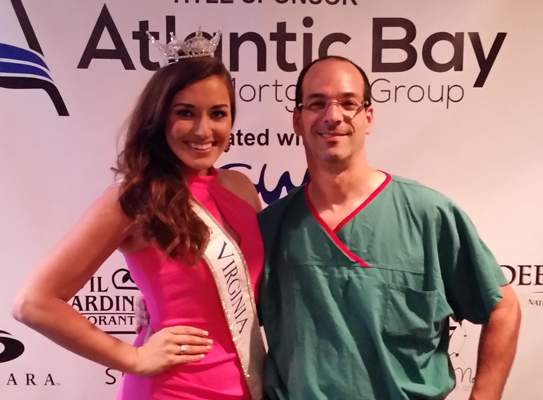 Look who I bumped into … Miss Virginia
